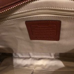 Coach Bags - Coach Leather Carryall in Cognac NWT